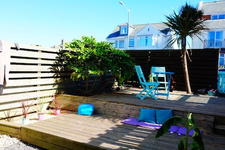 Beach house with pool & garden pentire, fistral - Newquay - Daire