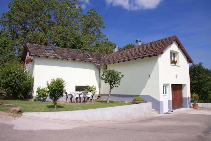 Gîte de vacances en lisière de forêt (3 étoiles) - Lembach - Natur lodge