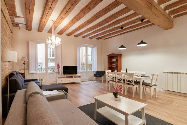 Apartamento en la Calle Estafeta de Pamplona.