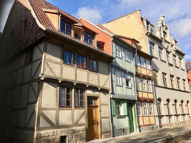 Konvent 15 - Ferienhaus - Denkmal von 1666 - Quedlinburg - Dom