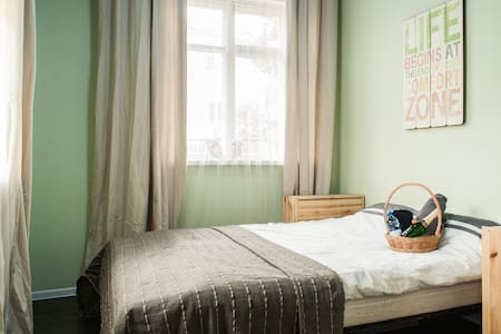 Cozy bright room nearby center - Minsk