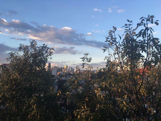 Amazing skyline view! - Ciudad de México - Apartament