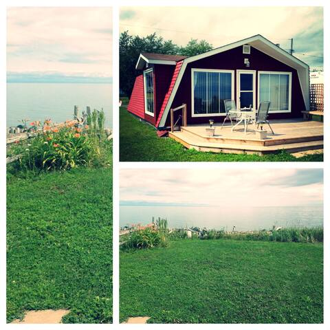 Beach living on the beautiful Bay of Chaleur.