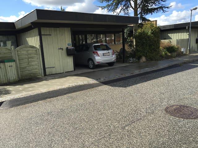 Hyggeligt gårdhavehus på 136 m2 - Lillerød