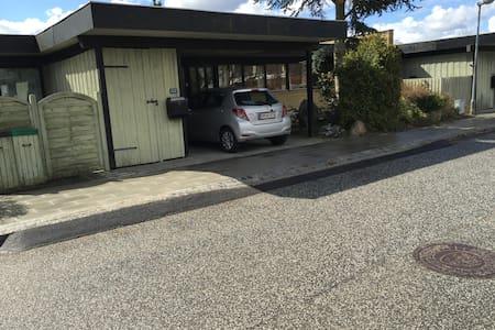 Hyggeligt gårdhavehus på 136 m2 - Lillerød - Dům