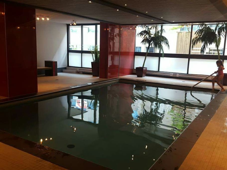 swimming pool in the building