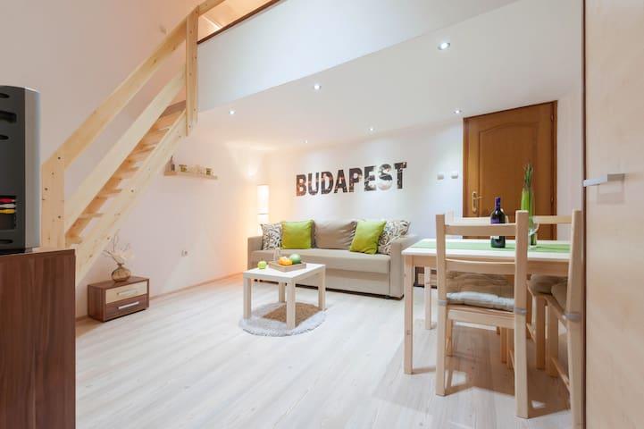Kiraly Loft Studio -  middle of the city center - Budapest - Loft
