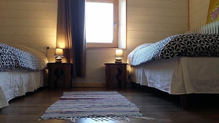 Topaze, Chambre pour 3 dans Gîte en Cévennes