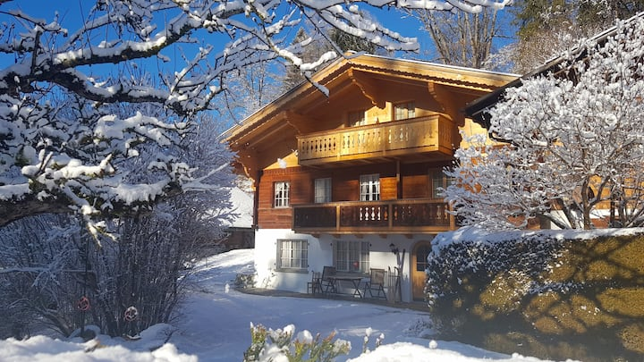 Sunny & Cosy Chalet in Gstaad