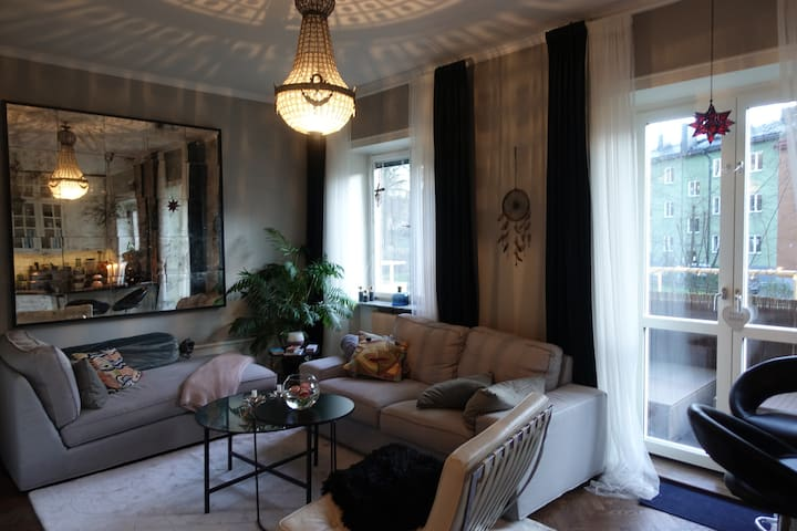 Magical nest close to city center in Stockholm