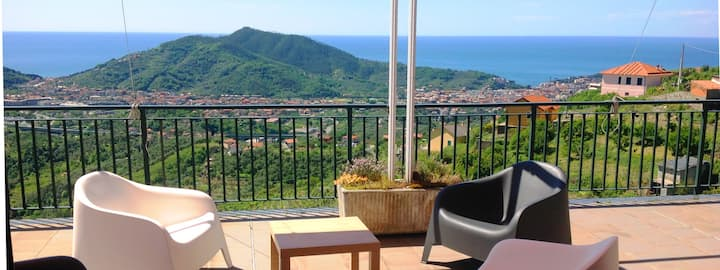 Sestri Levante - Villa Mari - splendida vista
