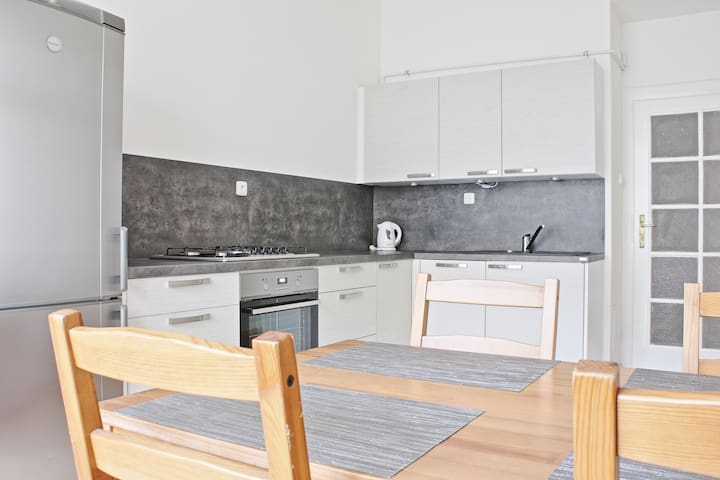 Newly renovated apartment free parking near center - Praag - Appartement