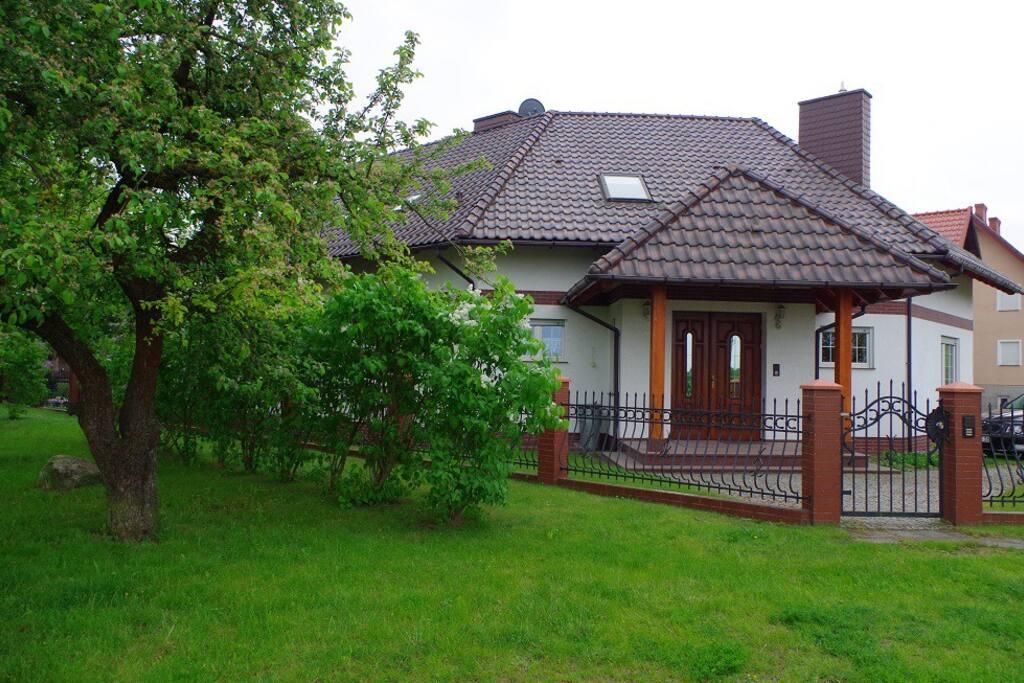 Das Haus in Krola Sielaw Straße 8
