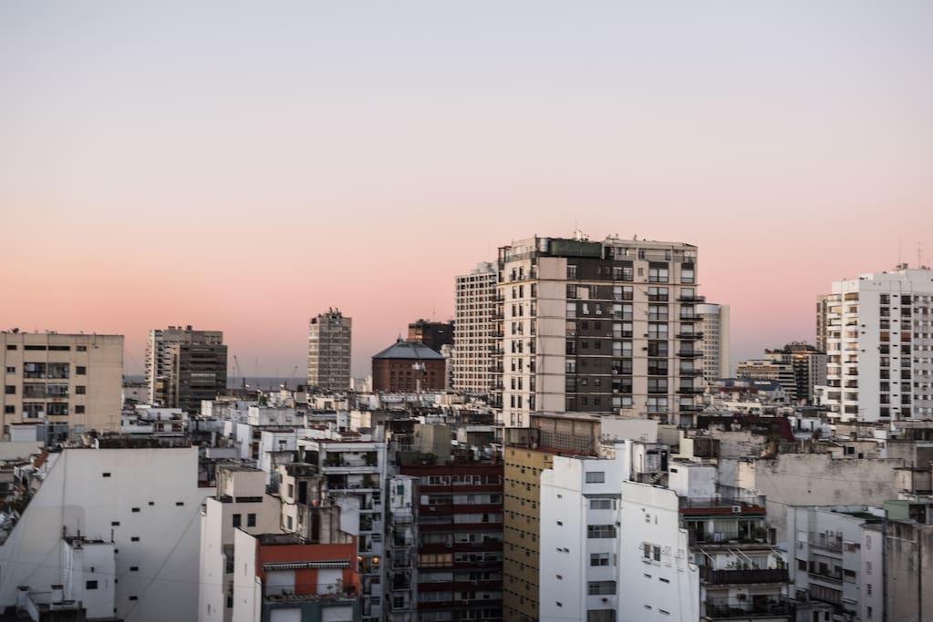 Living, Balcony & Main Bedroom View