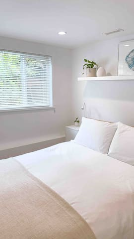 Back Bedroom With Garden View