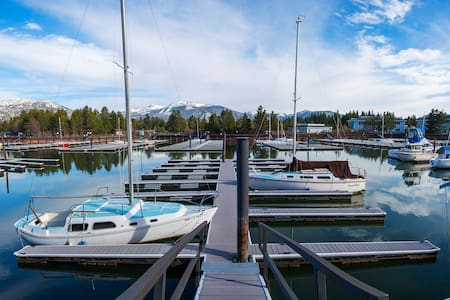 Lovely Tahoe Keys condo w/ marina view & boat slip - South Lake Tahoe - Apartment