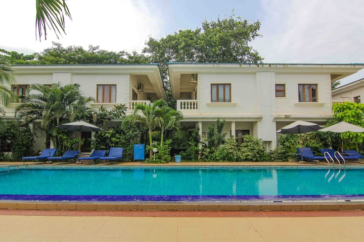 2 Bedroom Row House in Candolim near the beach - 2