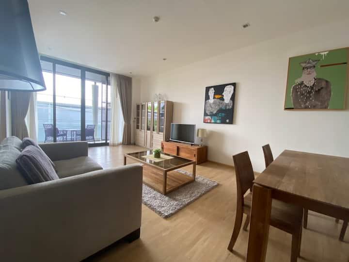 Cozy apartment 2 BR beachfront - Mai Khao Beach
