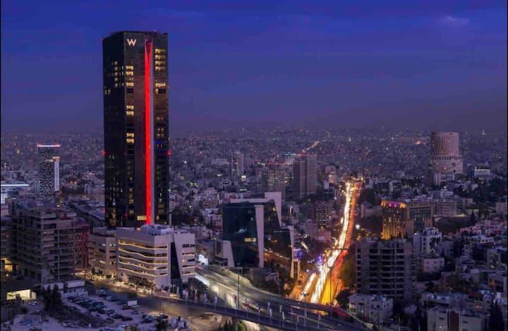 Amman skyline high building best view in Amman