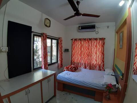 AC Furnished Separate Room in a Bungalow @ PCMC