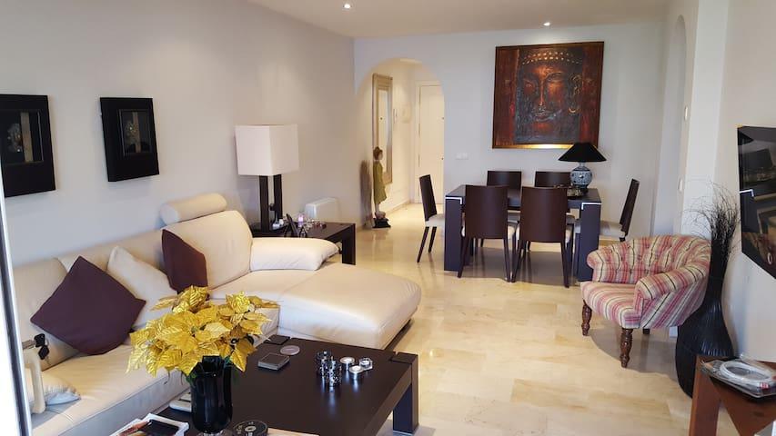 Sol, Playa y Golf - San Pedro de Alcántara - Appartement