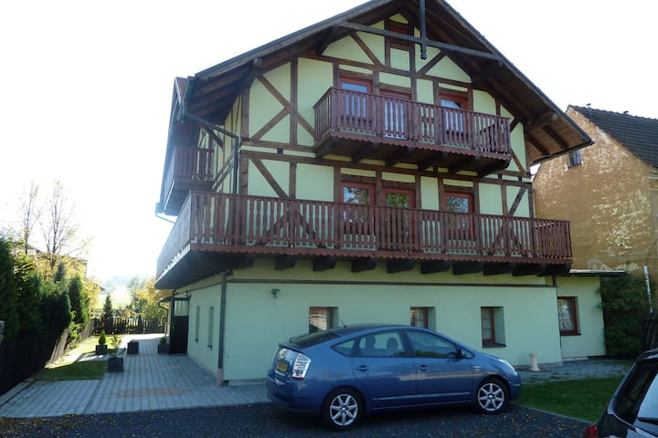 Nice accommodation (2 houses) for summer and winter holidays in the Ore Mountains