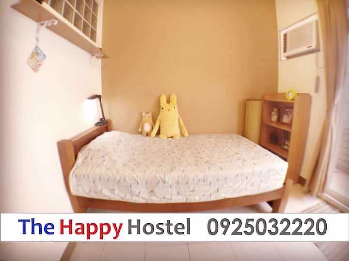 THE HAPPY HOUSE 夜市旁-單人房-(共用衛浴)