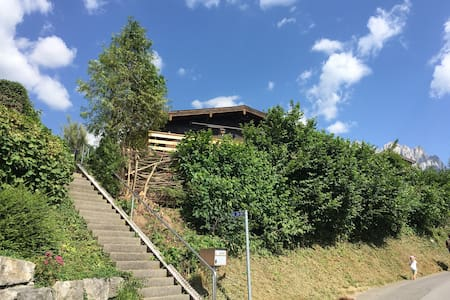 Holzchalet in Gams
