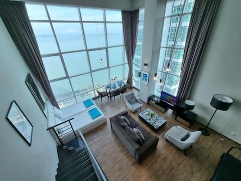 180° Sunrise Seaview Seaside Duplex 无敌日出全海景海边套房 12