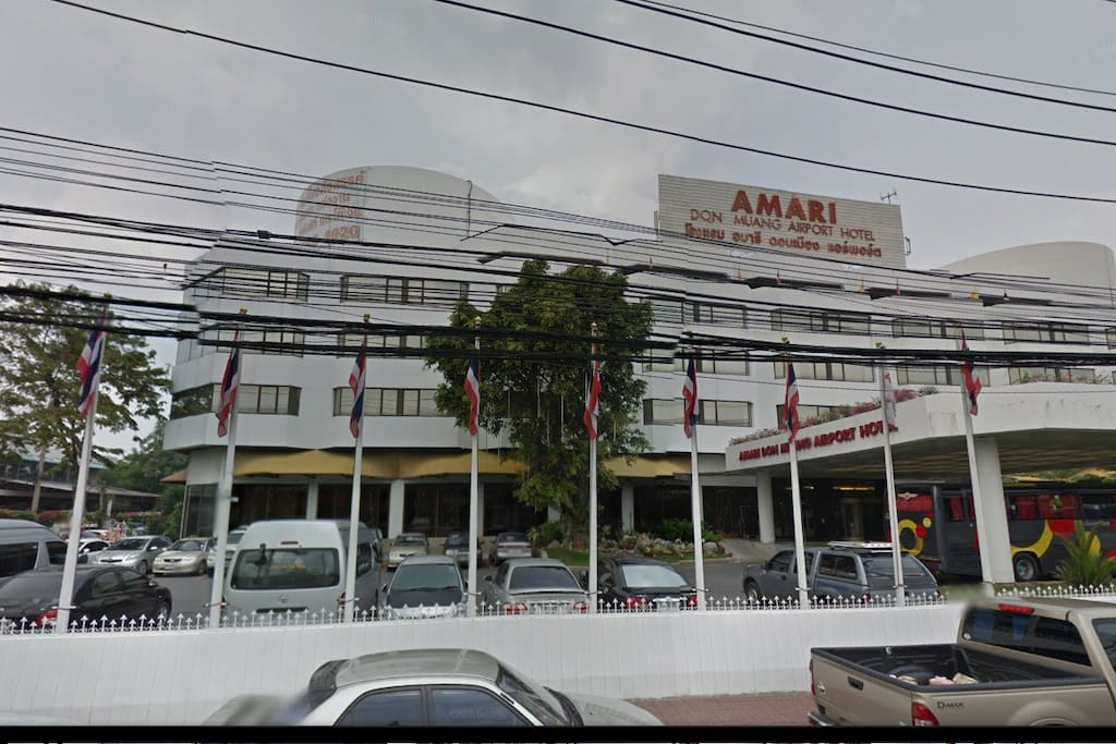 The Opposite of Donmuang International Airport is Amari Airport Hotel.