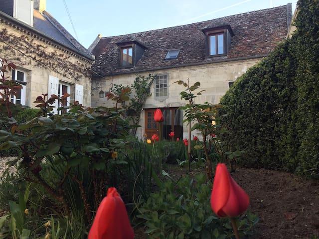 Maison de charme dans village de foret. - Rethondes - House