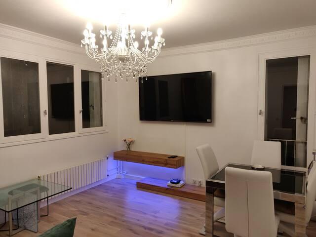 Appartement moderne propre et super confortable