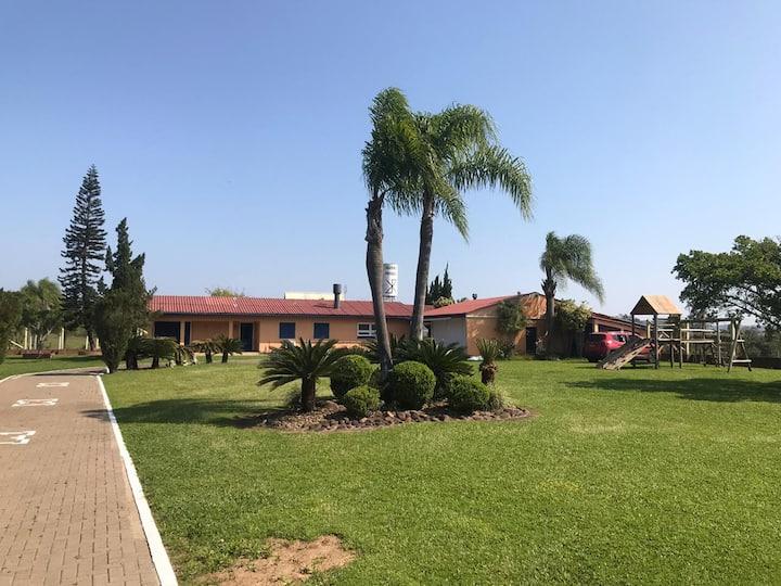Casa de campo no interior da Grande Porto Alegre