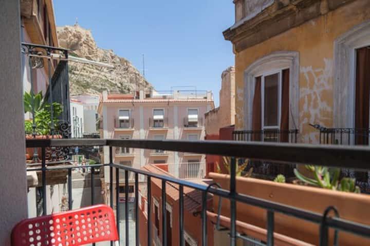 Antique Alicante Apartament - City Centre