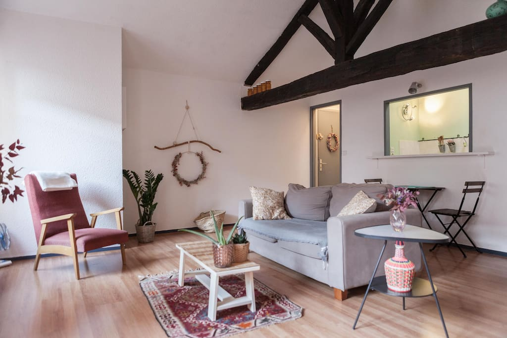 Studio de charme au centre du quartier historique for Louer studio a bordeaux