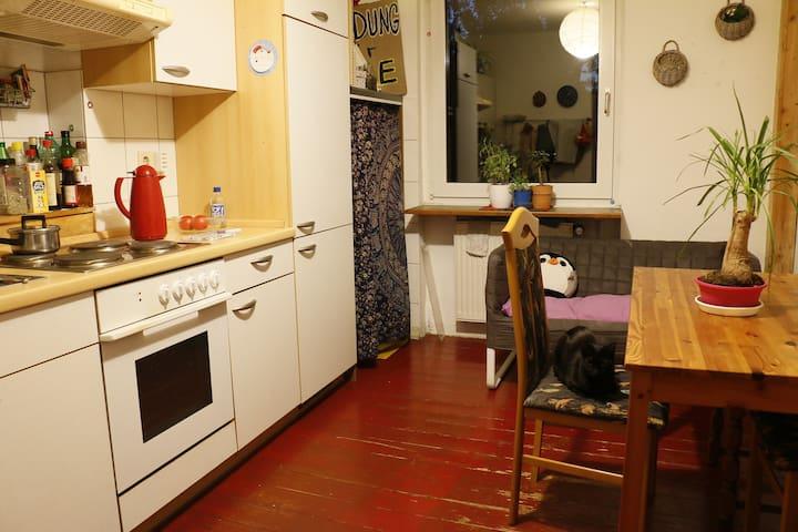 Cute Room for short-stay plus bike in Bochum