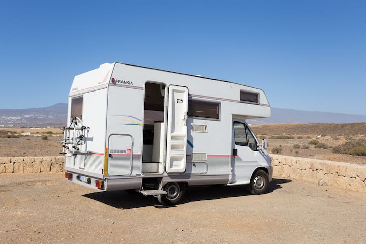 Caravan with WiFi 4 your Tenerife (Canary) Holiday