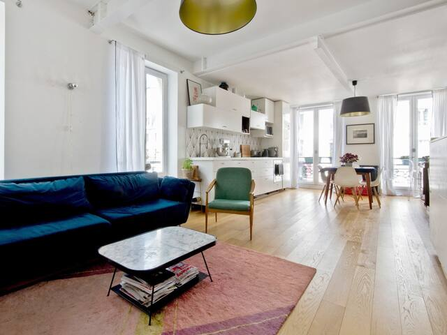 Spacious 2br in the heart of Paris – W496