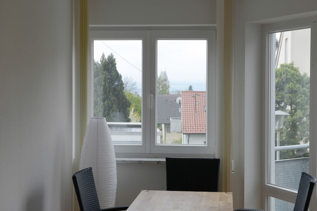 Sonnige ferienwohnung in meersburg am bodensee for Bodensee apartment