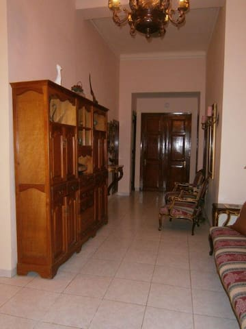 ENTRY-HALL TO BEDROOMS