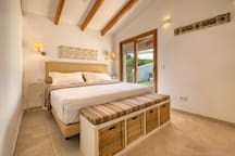 Bedroom with direct access to private terrace