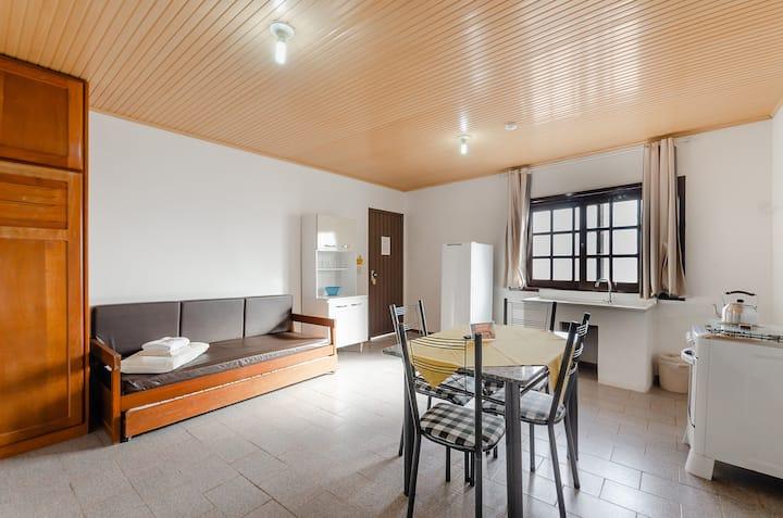 Praia Itapeva, Apartamento de 1 Quarto