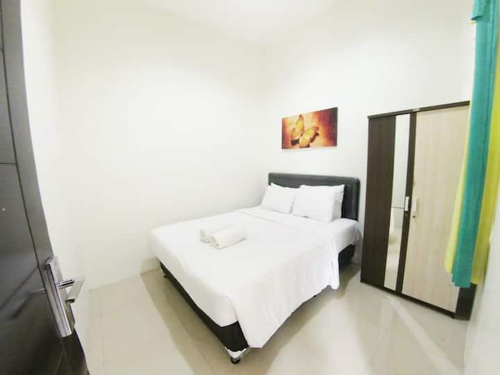 Villa Batu 2 kamar No. 7 dekat Museum Angkut