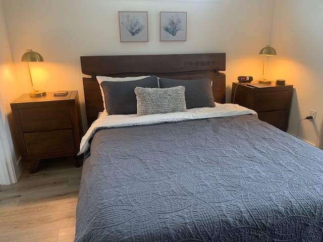 Master bedroom with master bath