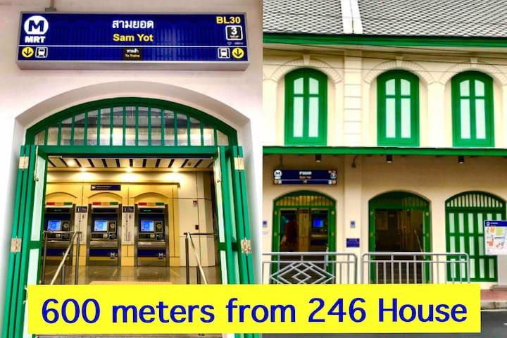 MRT Sam Yot Station (underground train)