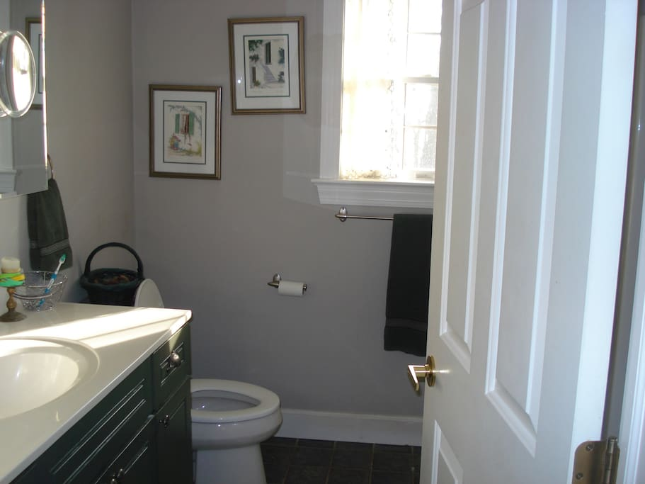 Bathroom to share with one other room