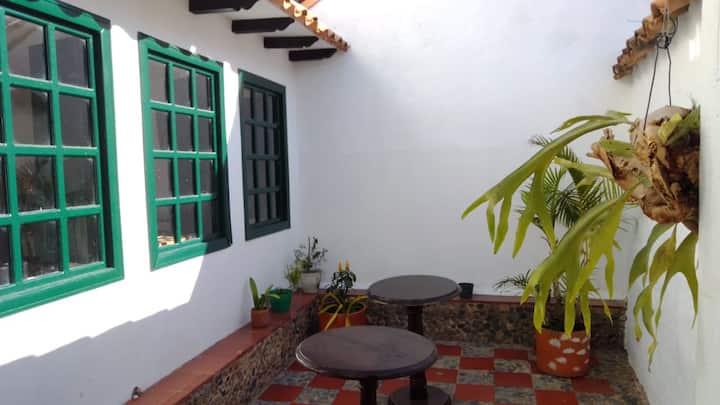 Habitación con hermosa vista en Villa de Leyva