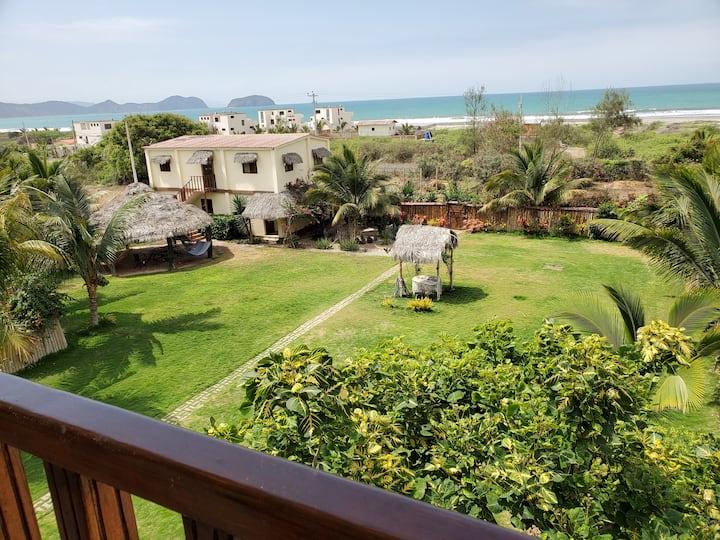 Casa Vista, 3BR Ocean View Apartment  w/  2 floors