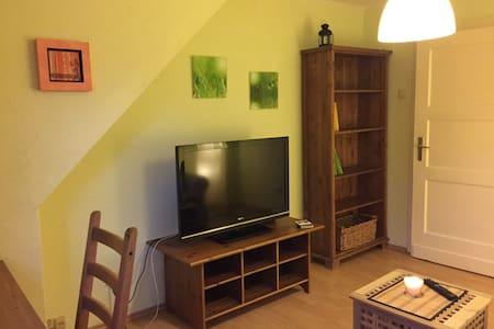 Gemütliche Unterkunft, Kabel-TV, WLAN, Balkon - Bielefeld