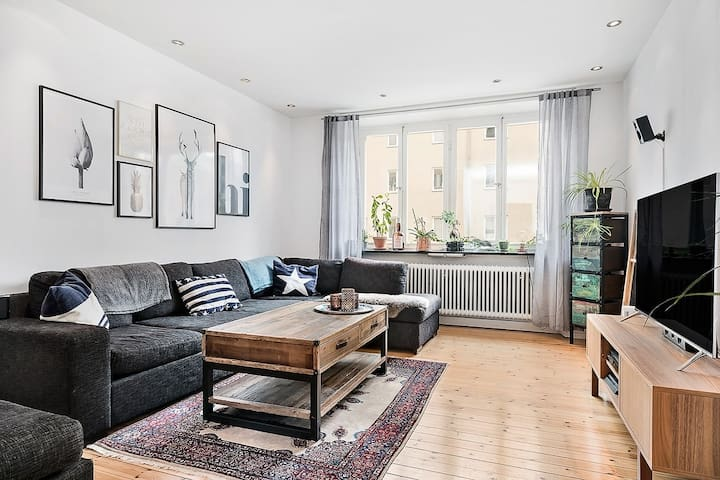 Beautiful 2 room apartment close to city center - Sztokholm
